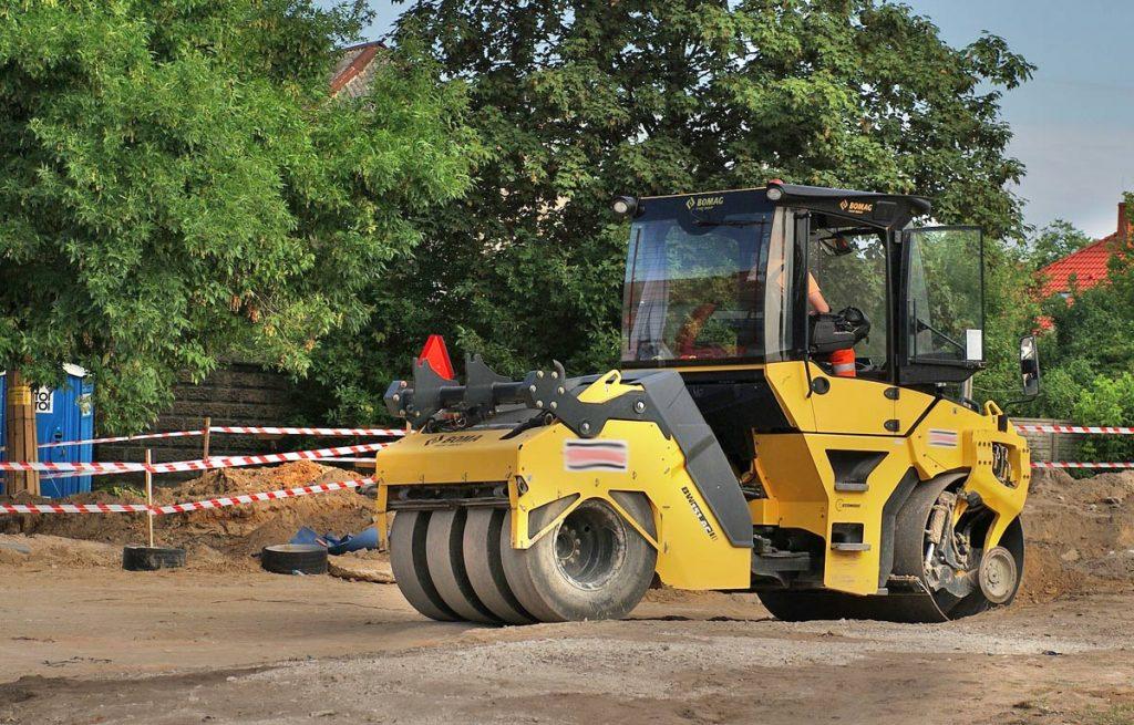 Odpadów z przebudowy i remontów dróg